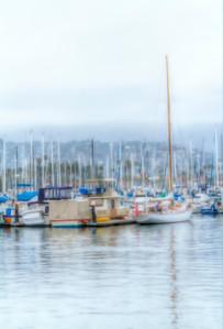 Santa Barbara Harbor Abstraction