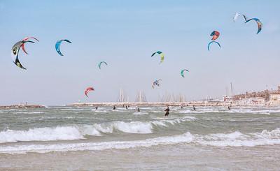 Kite Boarding on Banana Beach